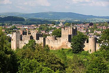 Ludlow Castle, Ludlow, Shropshire, England, United Kingdom, Europe