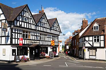 The Bell Pub on Church Street, Tewkesbury, Gloucestershire, England, United Kingdom, Europe