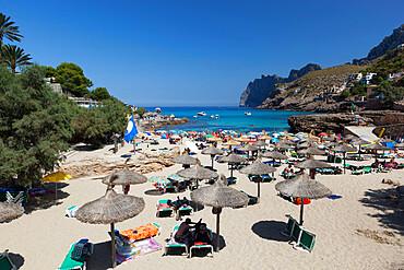 Cala San Vincente (Cala Sant Vicenc), Mallorca (Majorca), Balearic Islands, Spain, Mediterranean, Europe