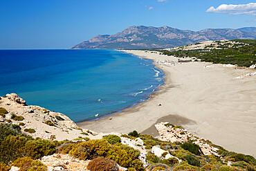 Patara beach, near Kalkan, Lycia, Antalya Province, Mediterranean Coast, Southwest Turkey, Anatolia, Turkey, Asia Minor, Eurasia