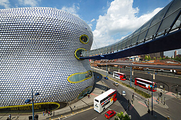 Selfridges Building, Bullring Shopping Centre, Moor Street, Birmingham, West Midlands, England, United Kingdom, Europe