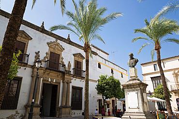 Casa de la Riva Domecq, Rafael Rivero Square, Jerez de la Frontera, Cadiz province, Andalucia, Spain, Europe