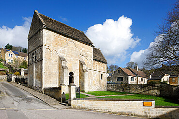 The Saxon Church of St. Laurence, Bradford-on-Avon, Wiltshire, England, United Kingdom, Europe