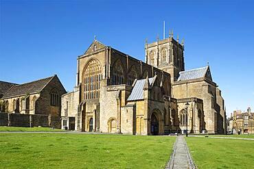 Sherborne Abbey, Sherborne, Dorset, England, United Kingdom, Europe
