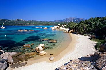 Spiaggia dell Elefante beach, Cala di Volpe, Costa Smeralda, Sardinia, Italy, Europe