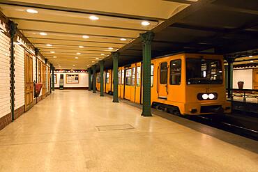 Vorosmarty Ter metro station, Budapest, Hungary, Europe