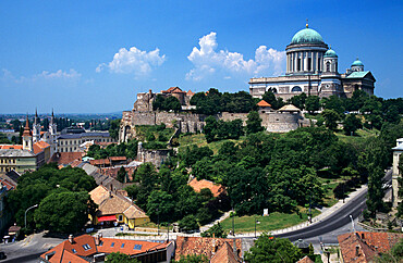 Esztergom Basilica, Esztergom, Komarom-Esztergom, Hungary, Europe