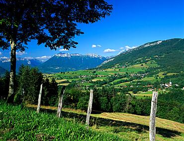Bauges Mountains, near Annecy, Rhone Alpes, France, Europe