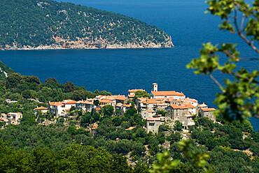 Beli village, Cres Island, Kvarner Gulf, Croatia, Adriatic, Europe