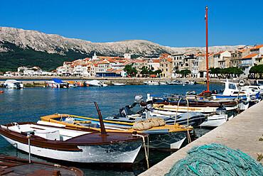 Baska, Krk Island, Kvarner Gulf, Croatia, Adriatic, Europe