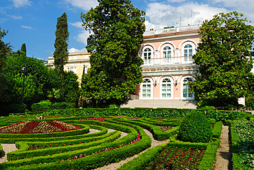 The Park and Villa Angiolina, Opatija, Kvarner Gulf, Croatia, Europe