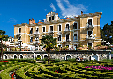 Hotel Opatija, Opatija, Kvarner Gulf, Croatia, Europe