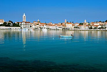 Rab Town, Rab Island, Kvarner Gulf, Croatia, Adriatic, Europe