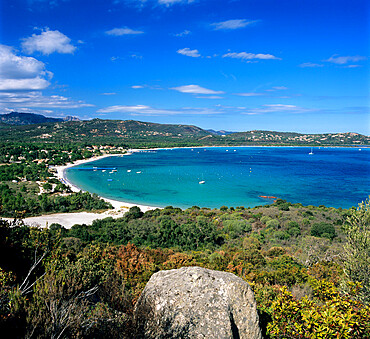 San Ciprianu beach, near Porto Vecchio, South East Corsica, Corsica, France, Mediterranean, Europe
