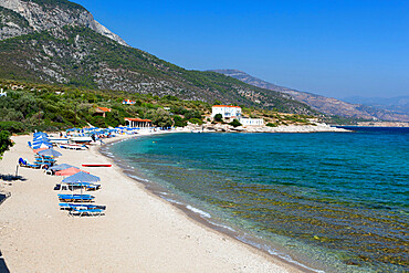 Limnionas beach, Samos, Aegean Islands, Greece