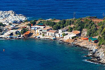 Traditional boat building yard, Aghios Isidhoros, Samos, Aegean Islands