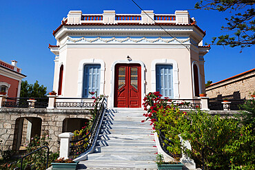 Neoclassical Villa, Karlovassi, Samos, Aegean Islands, Greece