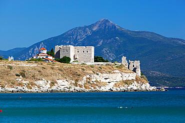 Pythagorion Byzantine castle, Pythagorion, Samos, Aegean Islands, Greece, Europe