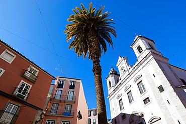 Igreja de Sao Miguel, Alfama, Lisbon, Portugal, Europe