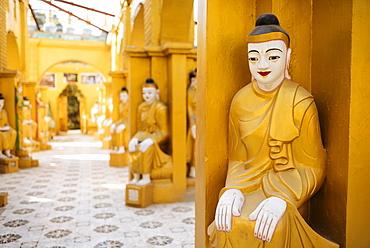 Buddhist Temple, Amarapura, Mandalay, Mandalay Region, Myanmar (Burma), Asia