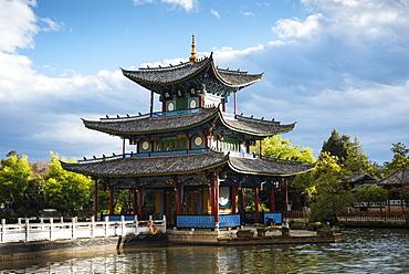 Black Dragon Pool Park, Lijiang, Yunnan Province, China, Asia