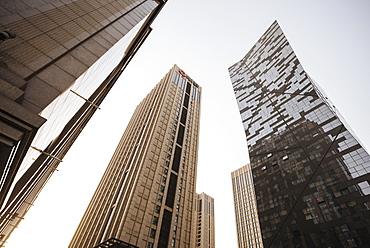 Modern skyscrapers, Beijing, China, Asia