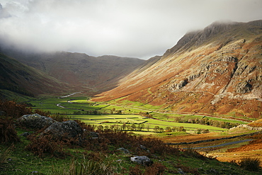 Langdale Valley, Lake District National Park, UNESCO World Heritage Site, Cumbria, England, United Kingdom, Europe