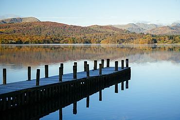 Still morning light at Lake Windermere, Lake District National Park, UNESCO World Heritage Site, Cumbria, England, United Kingdom, Europe