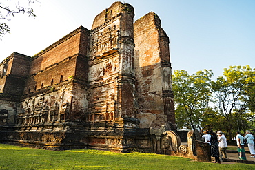 Lankatilaka Temple, Polonnaruwa, UNESCO World Heritage Site, North Central Province, Sri Lanka, Asia