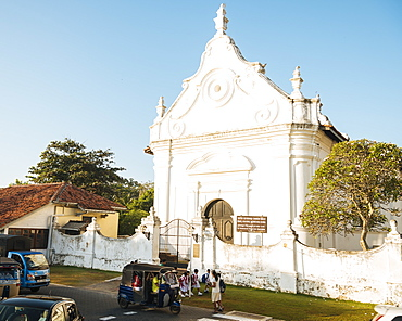 Dutch Reformed Church, Galle, Old Town, UNESCO World Heritage Site, South Coast, Sri Lanka, Asia