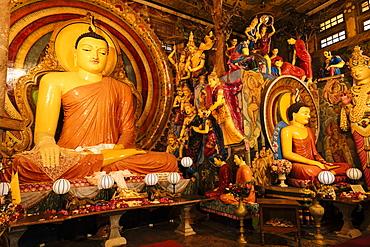 Gangaramaya Temple, Colombo, Western Province, Sri Lanka, Asia