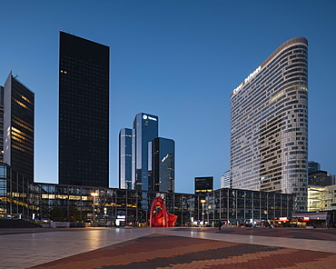 La Defense, Puteaux, Paris, Ile-de-France, France, Europe