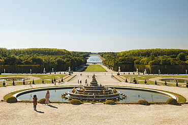 Gardens, Palace of Versailles, UNESCO World Heritage Site, Yvelines, Ile-de-France, France, Europe