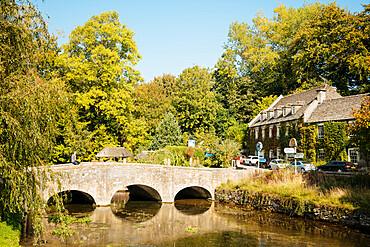Bibury, Cotswolds, Gloucestershire, England, United Kingdom, Europe
