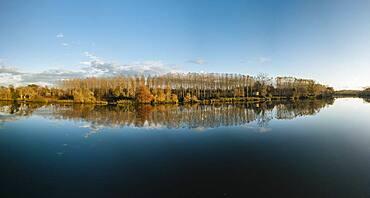 Adour River, Les Landes, Nouvelle-Aquitaine, France