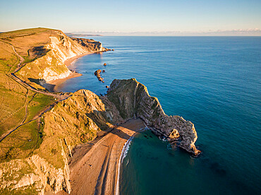 Durdle Door, Jurassic Coast, UNESCO World Heritage Site, Dorset, England, United Kingdom, Europe