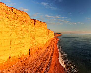 Burton Bradstock, Jurassic Coast, UNESCO World Heritage Site, Dorset, England, United Kingdom, Europe