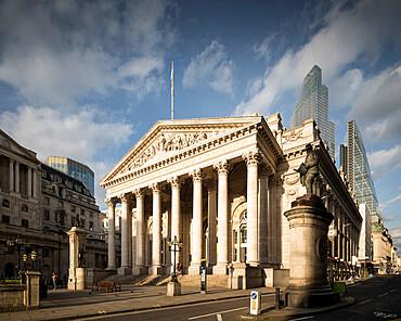 Bank of England, City of London, England, UK