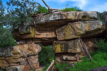 Gopala Pabbatha Cave Complex, a small cave monastery in Polonnaruwa, Sri Lanka, Asia
