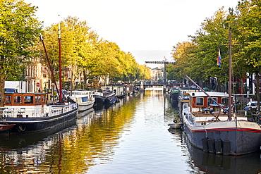Brouwersgracht, Amsterdam, North Holland, The Netherlands, Europe