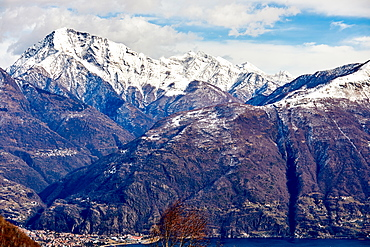 Monte Legnone mountain by Lake Como, Lombardy, Italian Lakes, Italy, Europe