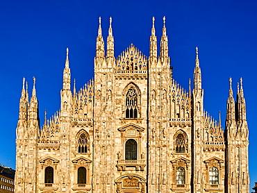 Duomo di Milano (Milan Cathedral), Milan, Lombardy, Italy, Europe