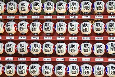 Japanese lanterns, Tokyo, Japan, Asia