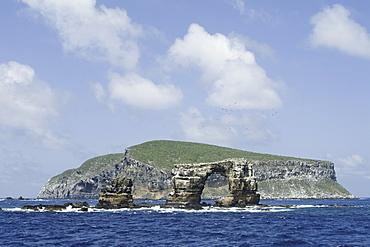 Darwin island and Darwins arch. Galapagos.