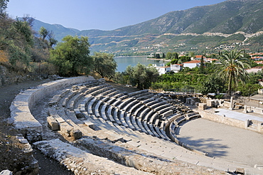 Small theatre of Ancient Epidaurus (Epidavros), Argolis, Peloponnese, Greece, Europe