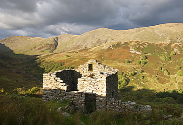 Ruin in the Lake District, England, UK - 994-29