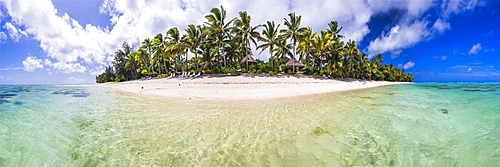 Beachfront at Royale Takitumu Luxury Villas, Titikaveka, Rarotonga, Cook Islands, South Pacific Ocean, Pacific
