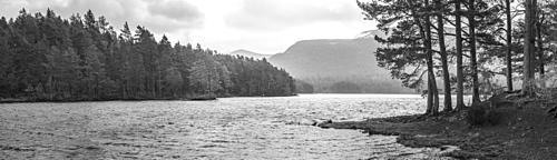 Loch an Eilein, Aviemore, Cairngorms National Park, Scotland, United Kingdom, Europe