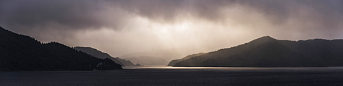Lake Waikaremoana, Te Urewera, Eastland, North Island, New Zealand, Pacific