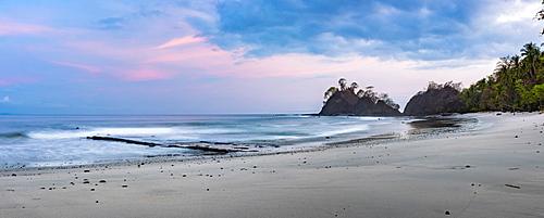 Punta Leona Beach at sunrise, Puntarenas Province, Pacific Coast of Costa Rica, Central America